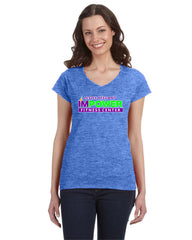 Ladies' V-Neck T-Shirt I'MPower