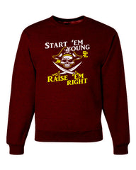 Crewneck Sweatshirt for Youth/Adults SE PTO LOGO A