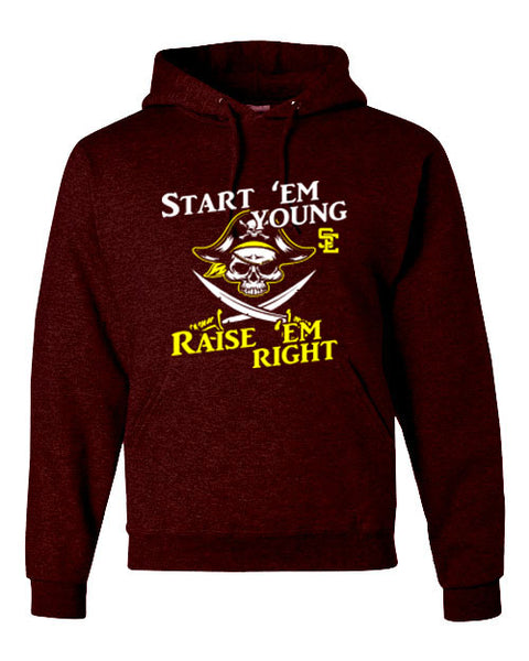 Hoodie for Adults/Youth SE PTO LOGO A