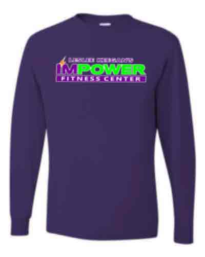 Uni-sex Long Sleeve T-shirt - I'M POWER