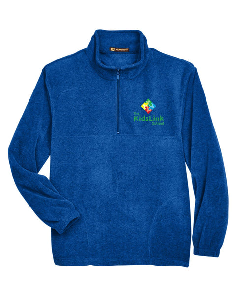 Kids Link Fleece Harriton Quarter Zip