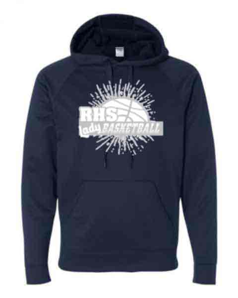 Adult or Youth Hoodie - RHS Lady Bsktbll