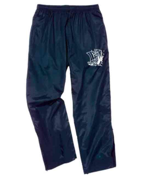 Navy warm-up pant