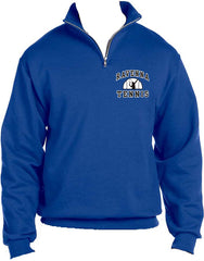Ravenna Tennis 1/4 Zip with Cadet Collar