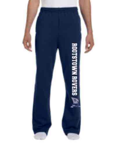 Open Hem Sweatpants for Adults or Youth - RHS