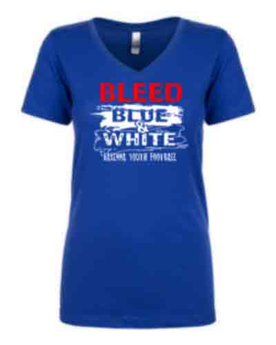 Ladies Royal V-neck T-shirt