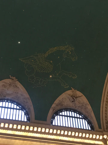 Ceiling of Grand Central Station