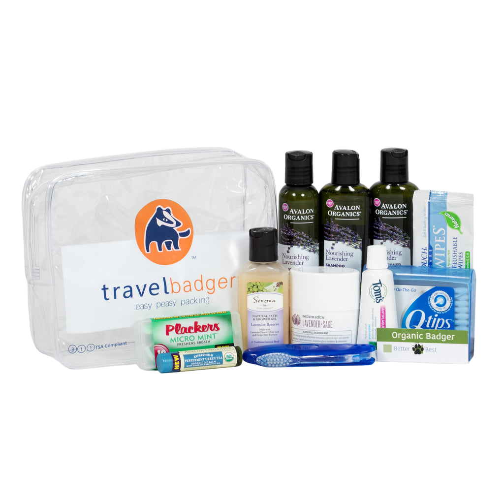 Organic Toiletry Kit