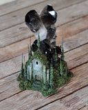 Huge Smoky Quartz Decorative Crystal, Diorama Art Piece