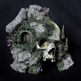 Decorative Realistic Skull Diorama Art Piece