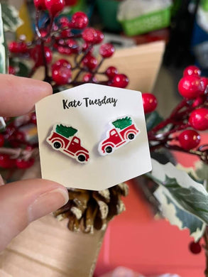 Old Fashioned Holiday Truck Earrings SALE!