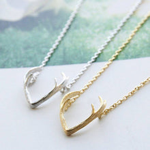 Small Antler Pendant Necklaces