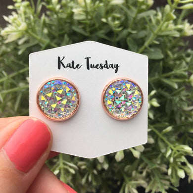 Ice Princess Druzy Earrings