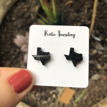 Nebraska Glitter State Stud Earrings (4 pack)