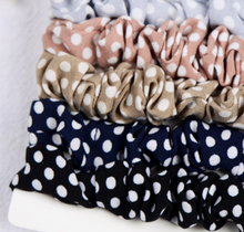 Polka Dot Scrunchie Set