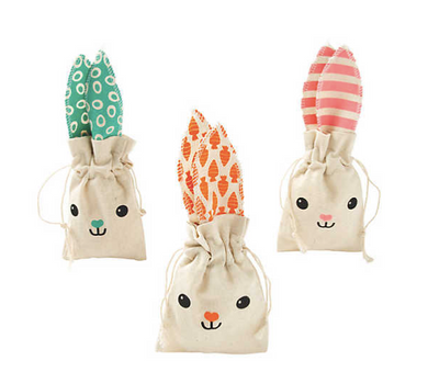 Canvas Easter Little Bag Totes