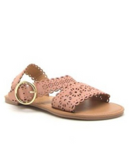 Candy Pink Love Detail Sandals