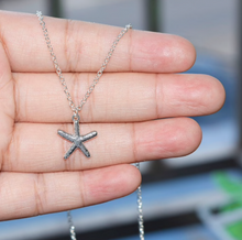 Starfish Necklaces In Silver + Gold