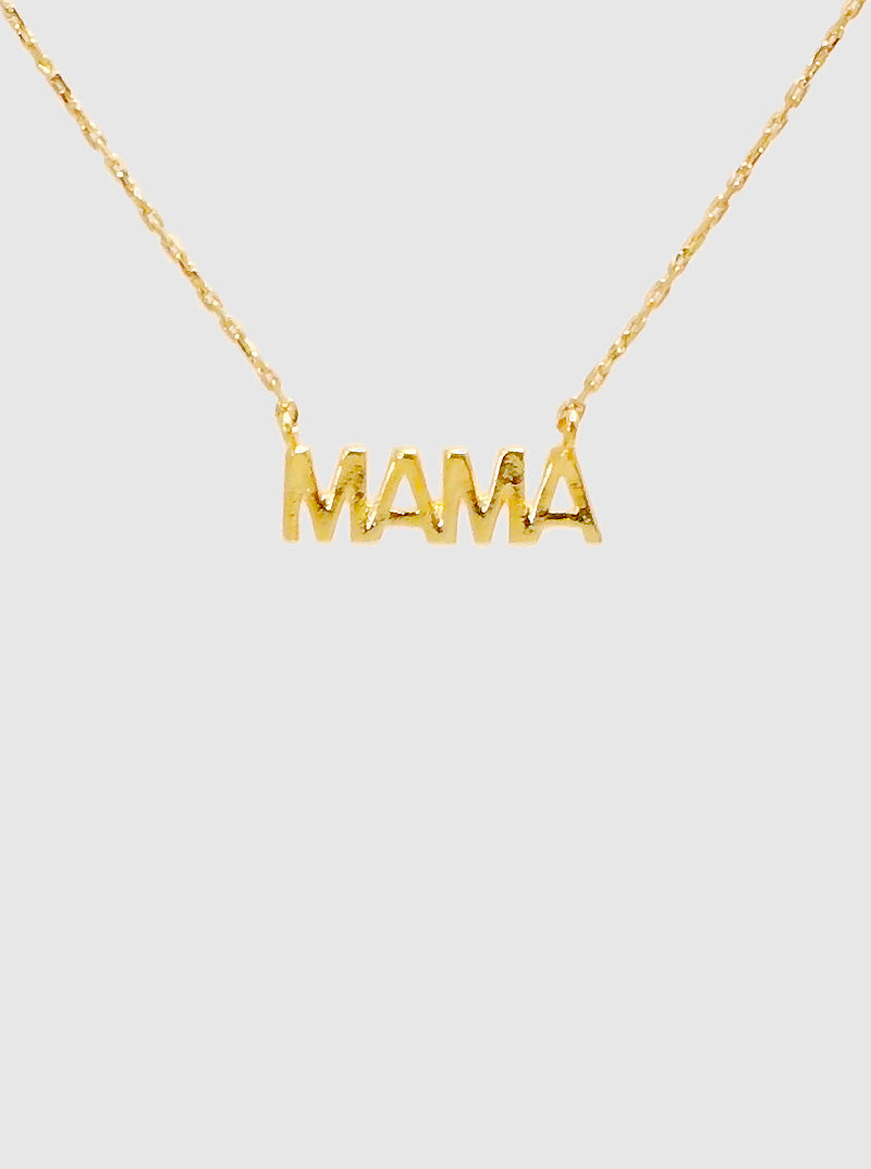 Gold MAMA Necklace SALE