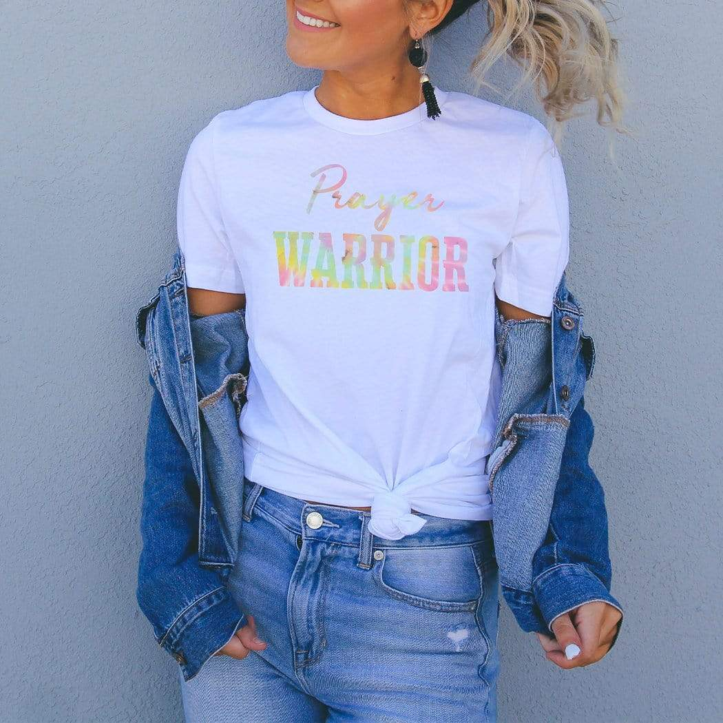Prayer Warrior Graphic T-Shirt