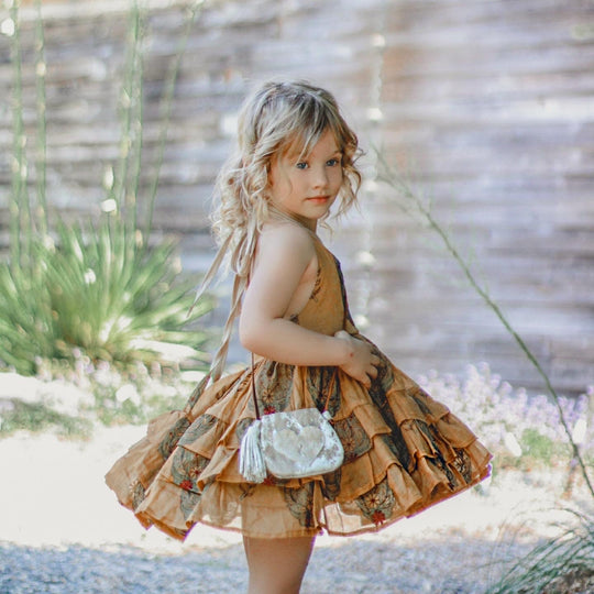 =La Flor Custom Dress (18mo-6yrs)