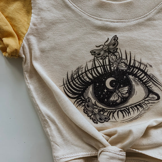 =The Beauty Of The Night Organic Tee