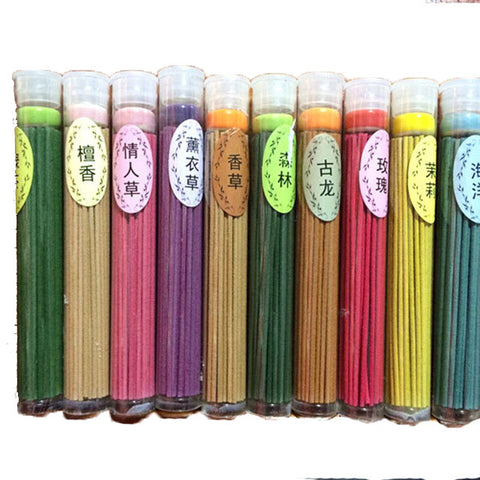 10 Flavor Tibetan Lily Rose Apple Sandalwood Indian Incense 50pcs