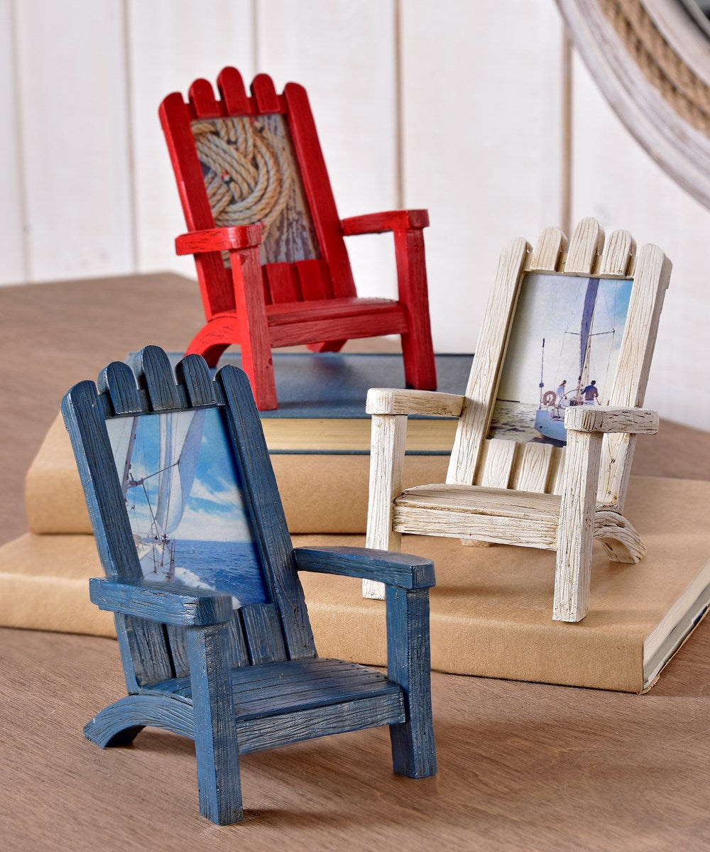 Adirondack Beach Chair Photo Frame