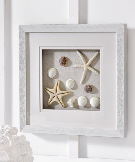 Shells & Stars Shadow Box