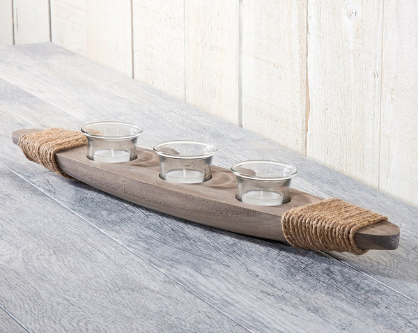 Nautical Boat Tea Light Display