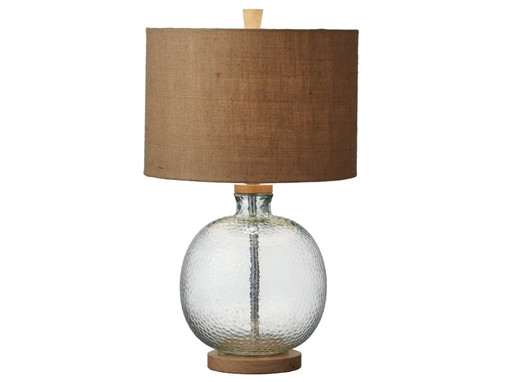 Textured Bulb Table Lamp