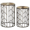 Star Accent Table, Set of 2