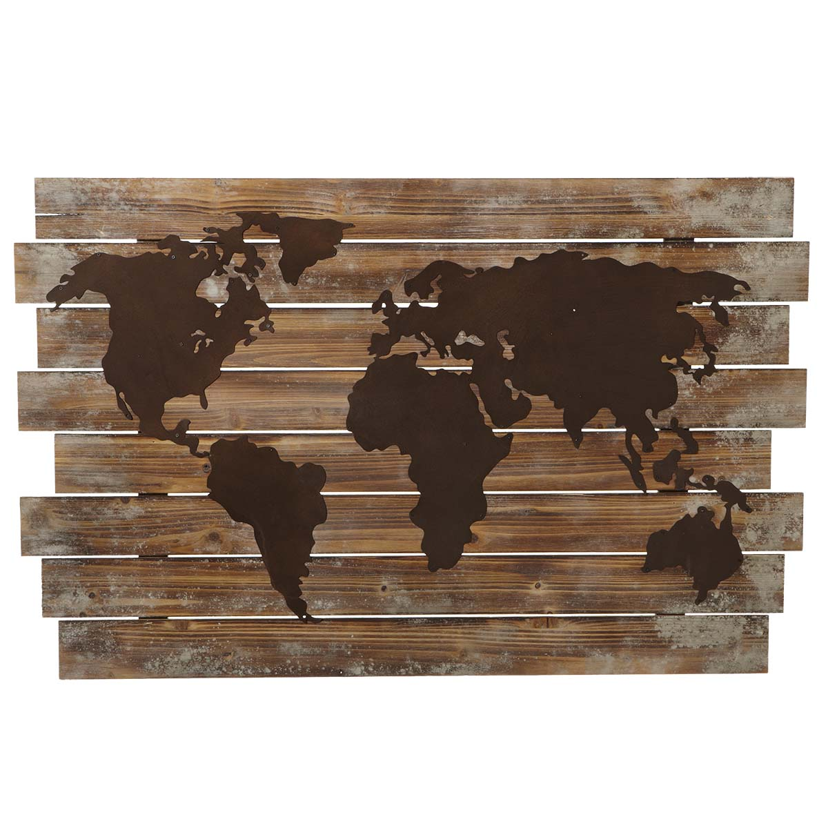 Rustic world map wall decor gumiabroncs Choice Image
