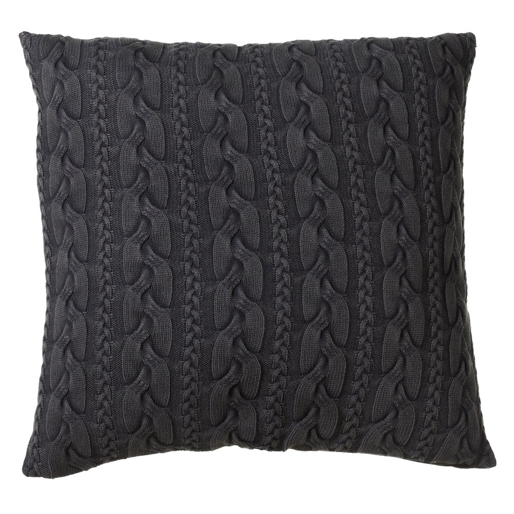 Oversized Cable Knit Floor Pillow