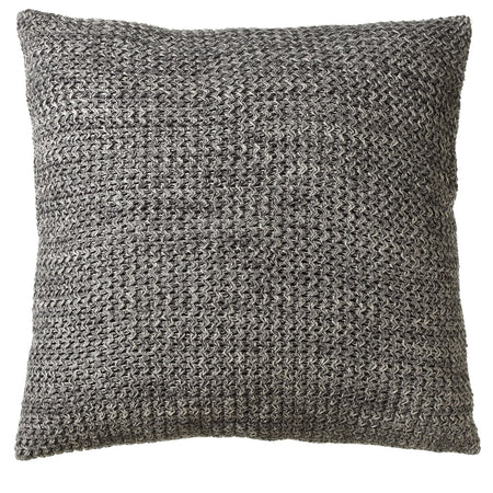 Oversized Marbled Grey Floor Pillow