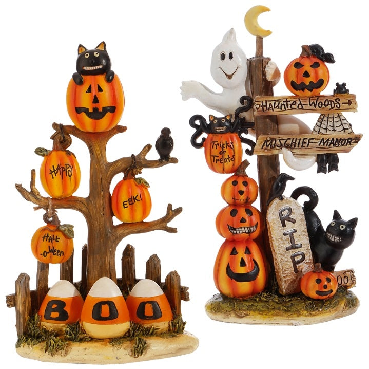 Halloween Resin Display