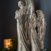 Praying Angel Display, Set of 2