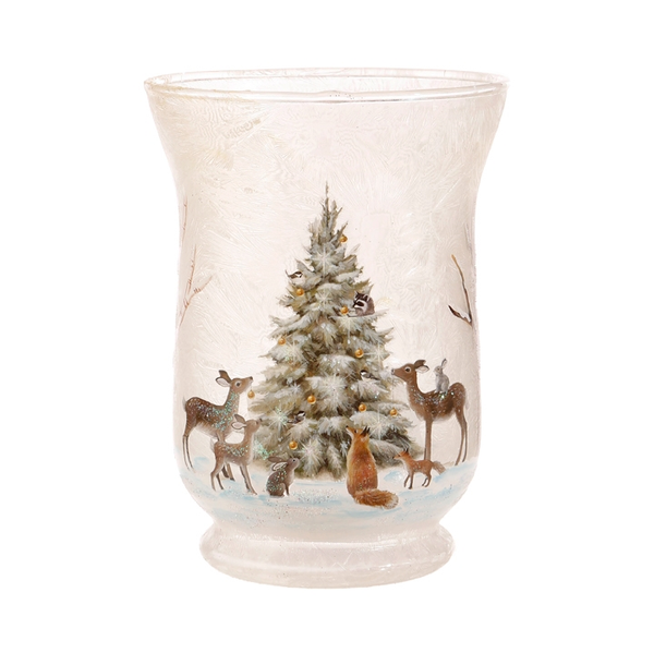 Woodland Votive Candle Holder