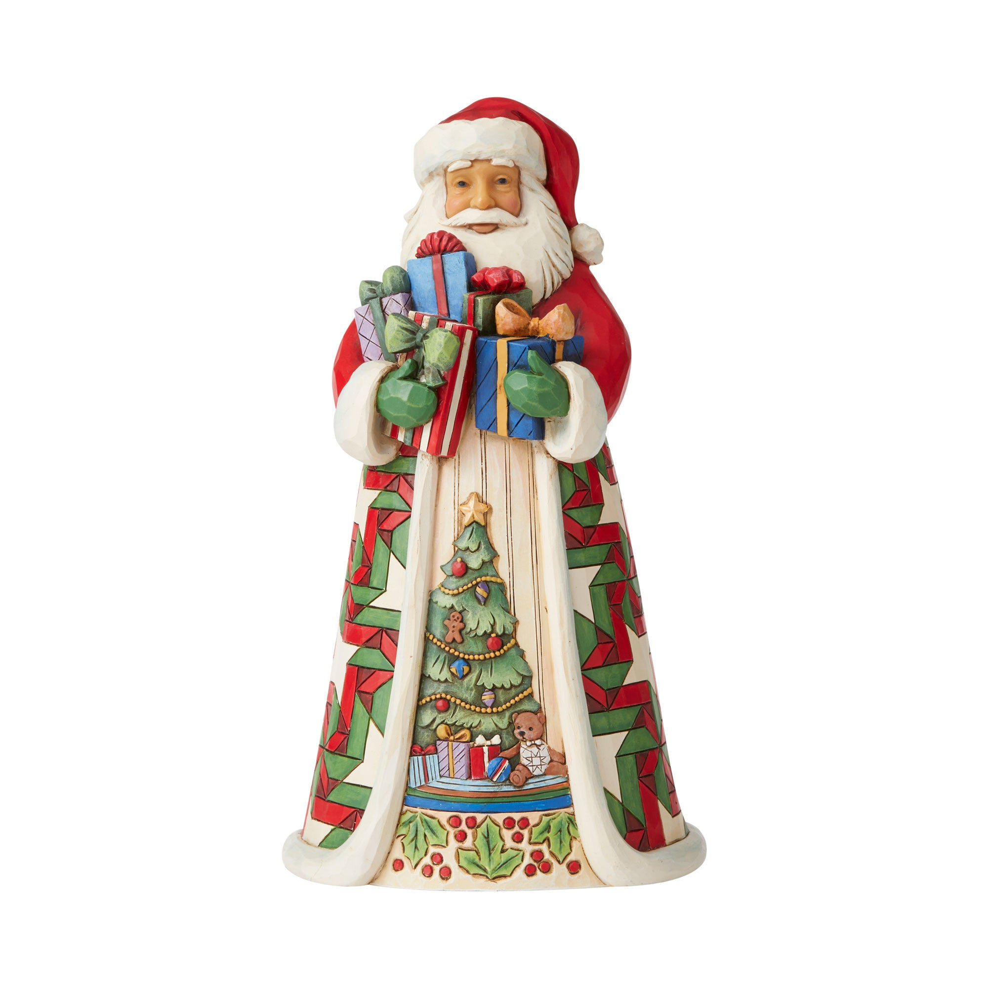 Traditional Santa Full of Gifts
