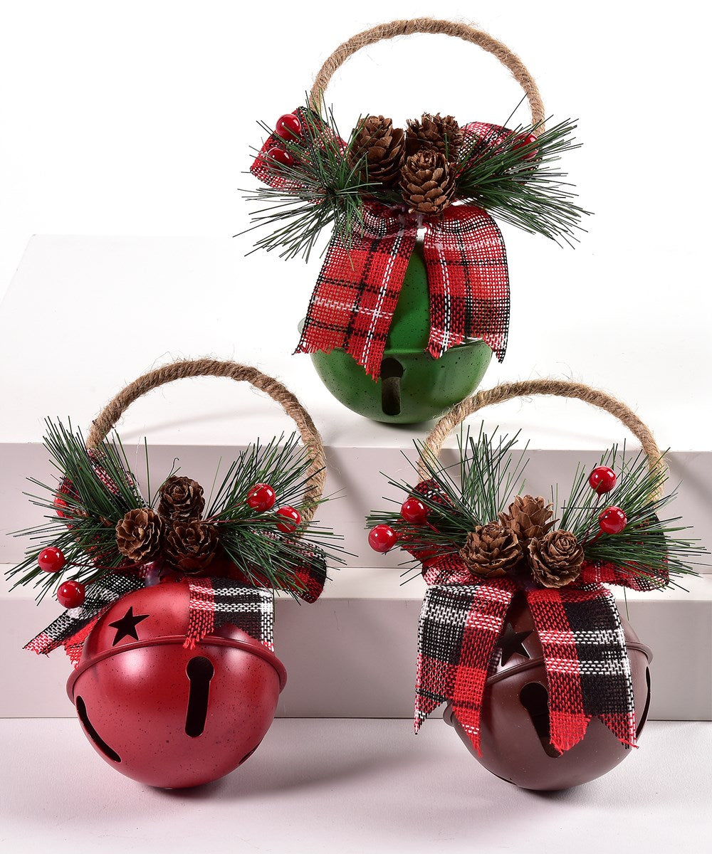 Merry Jingle-Bell Door Hanger