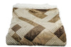 Hues of Brown Sherpa Throw Blanket