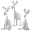Glittering Charming Moose, Set of 3