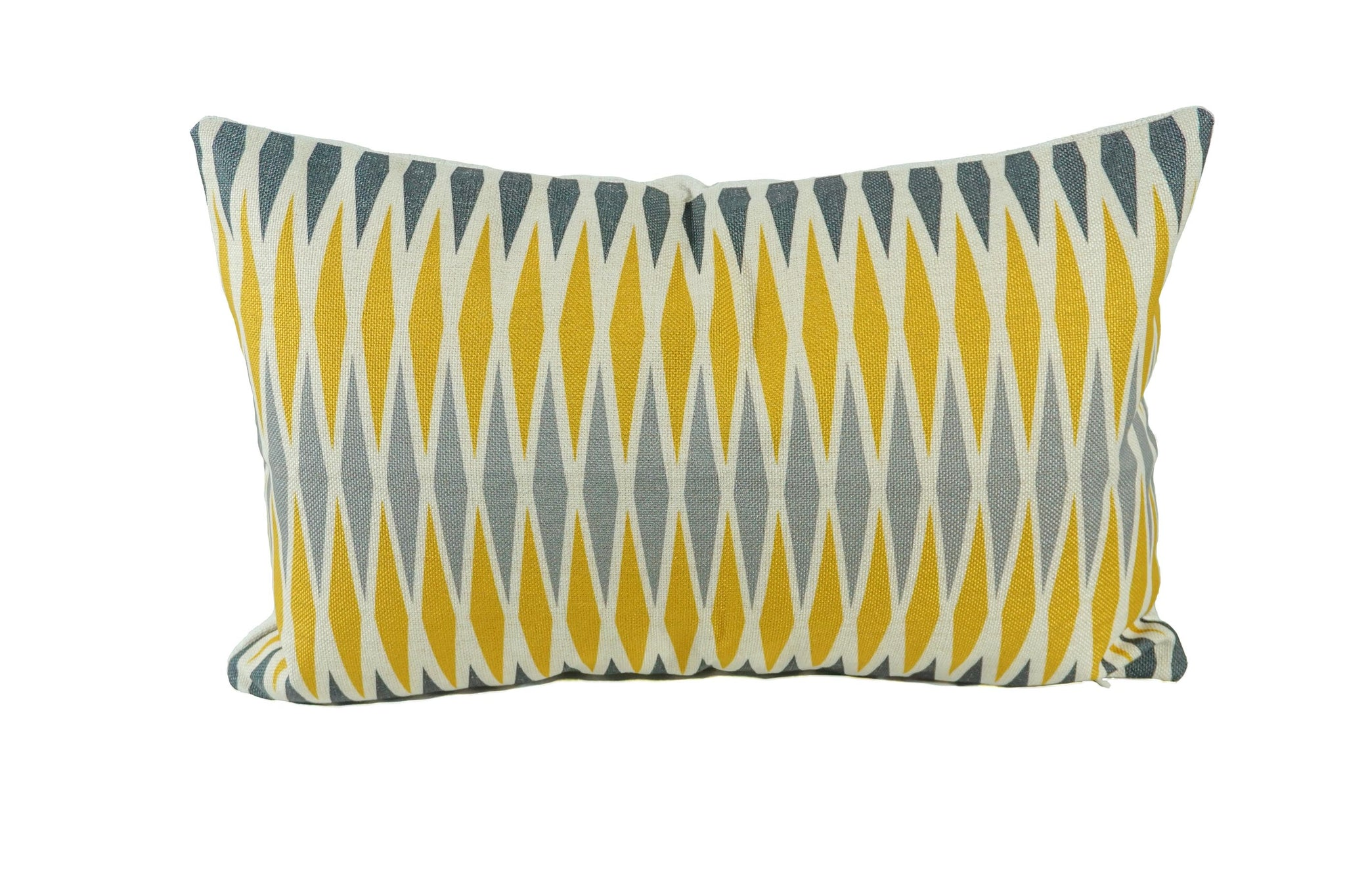 Sunshine Diamonds Throw Pillow