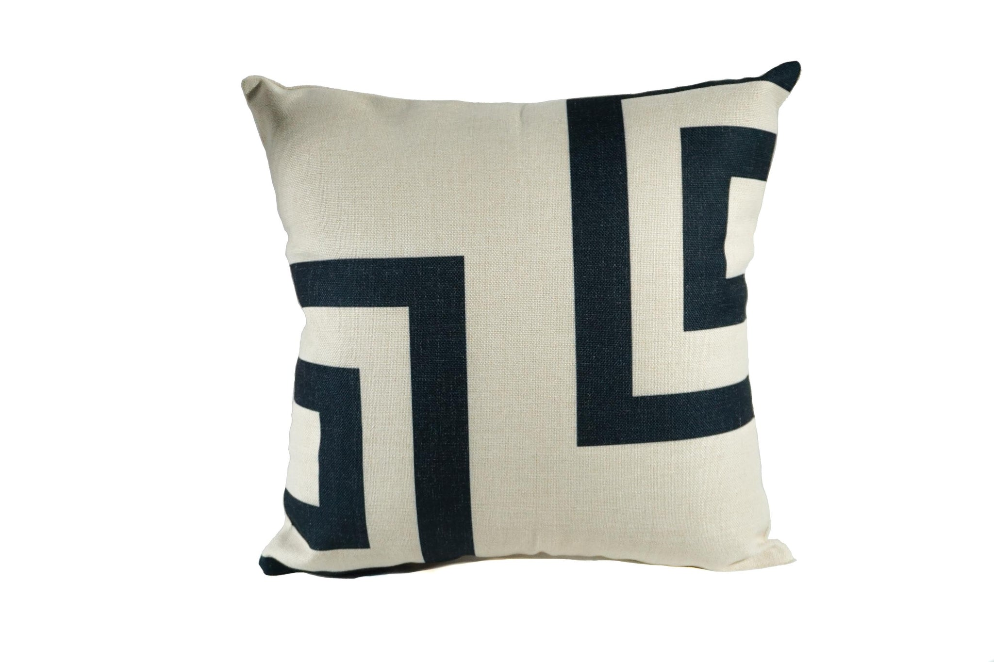Stacked Squares Throw Pillow