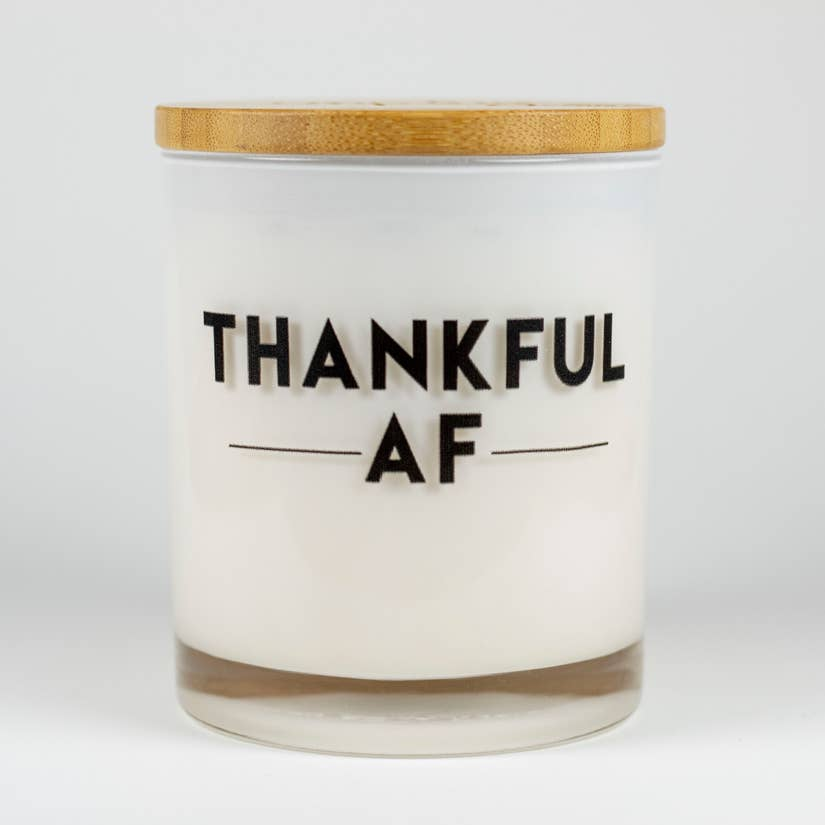 "Coconut Milk ""Thankful"" Soy Candle"