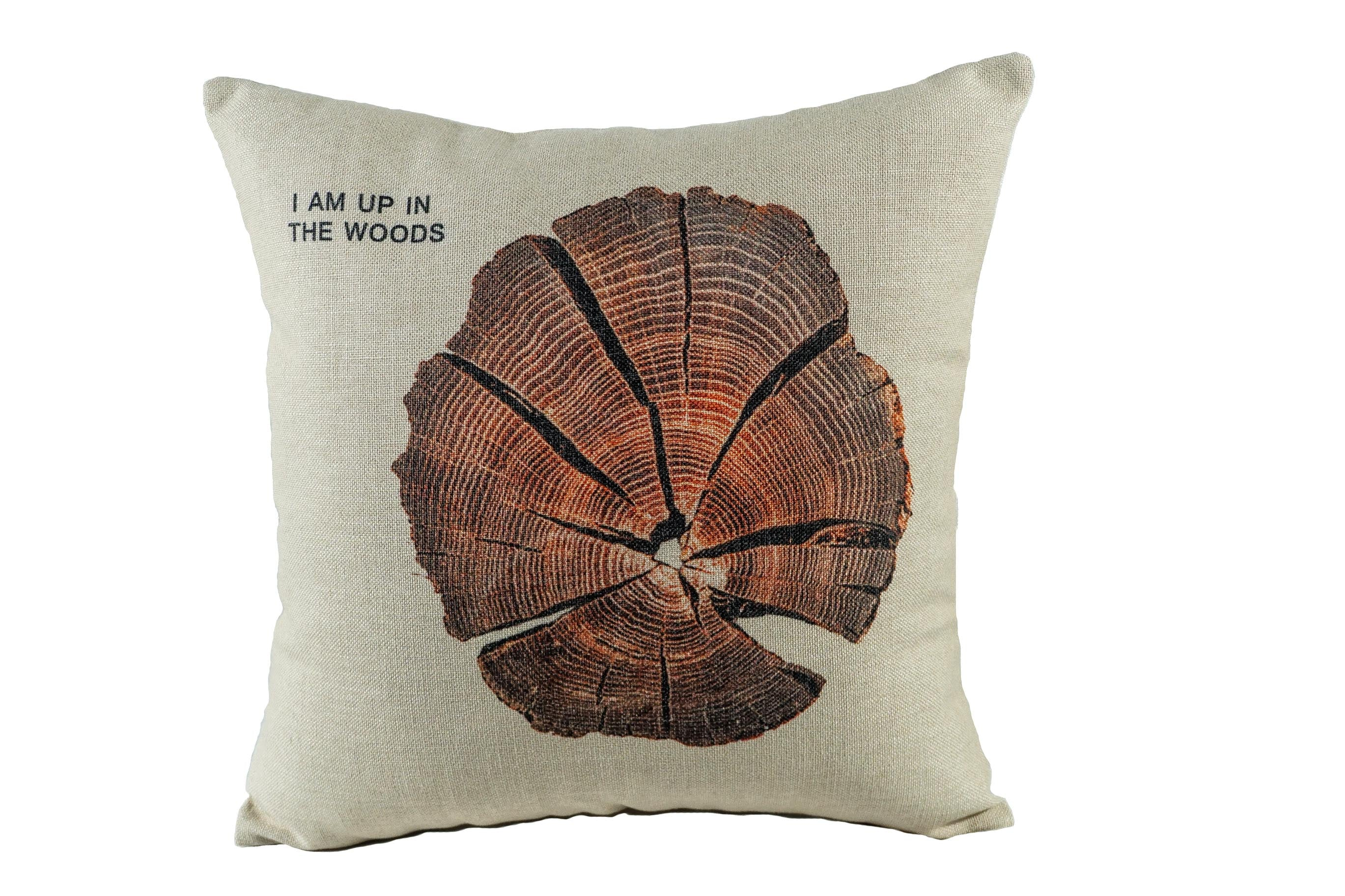 Tree Trump Throw Pillow