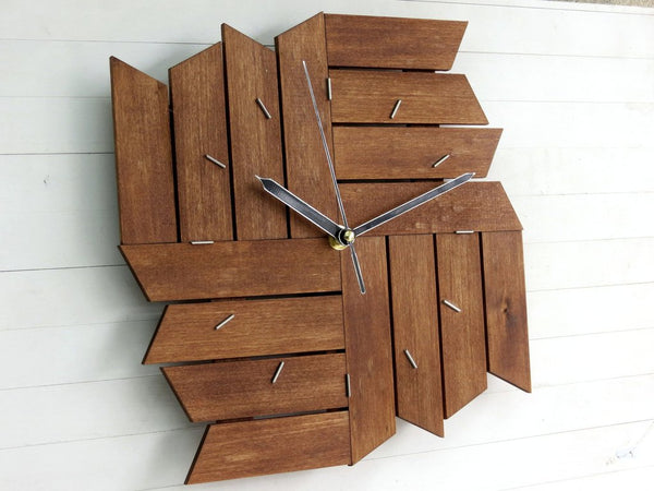Shuriken Wall Clock