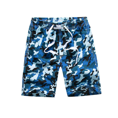 SHORE PLANET Quick Dry Camouflage Beach Shorts - Shore Planet