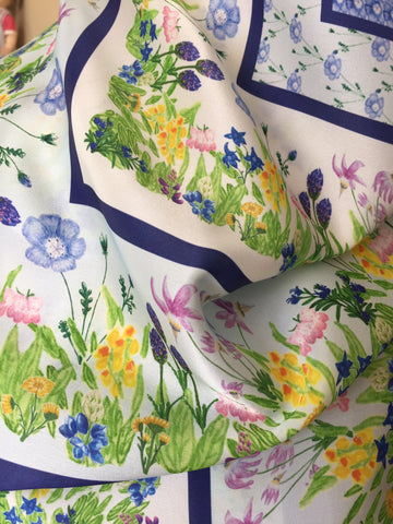 Silk Scarves - Wildflower Garden