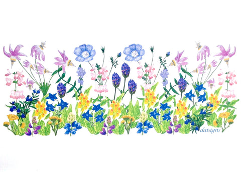 Note Cards - Wildflower Garden